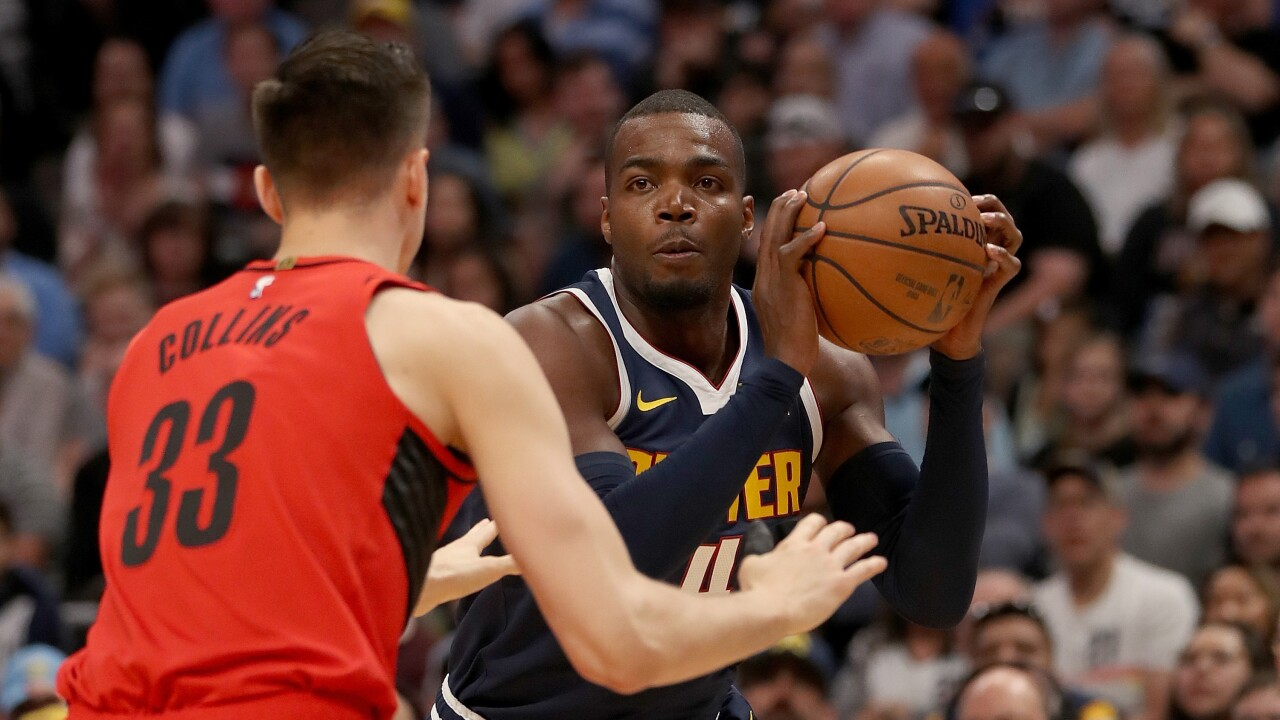 37ea34c70571 Game 7  Nuggets fall to the Portland Trail Blazers Sunday afternoon ...