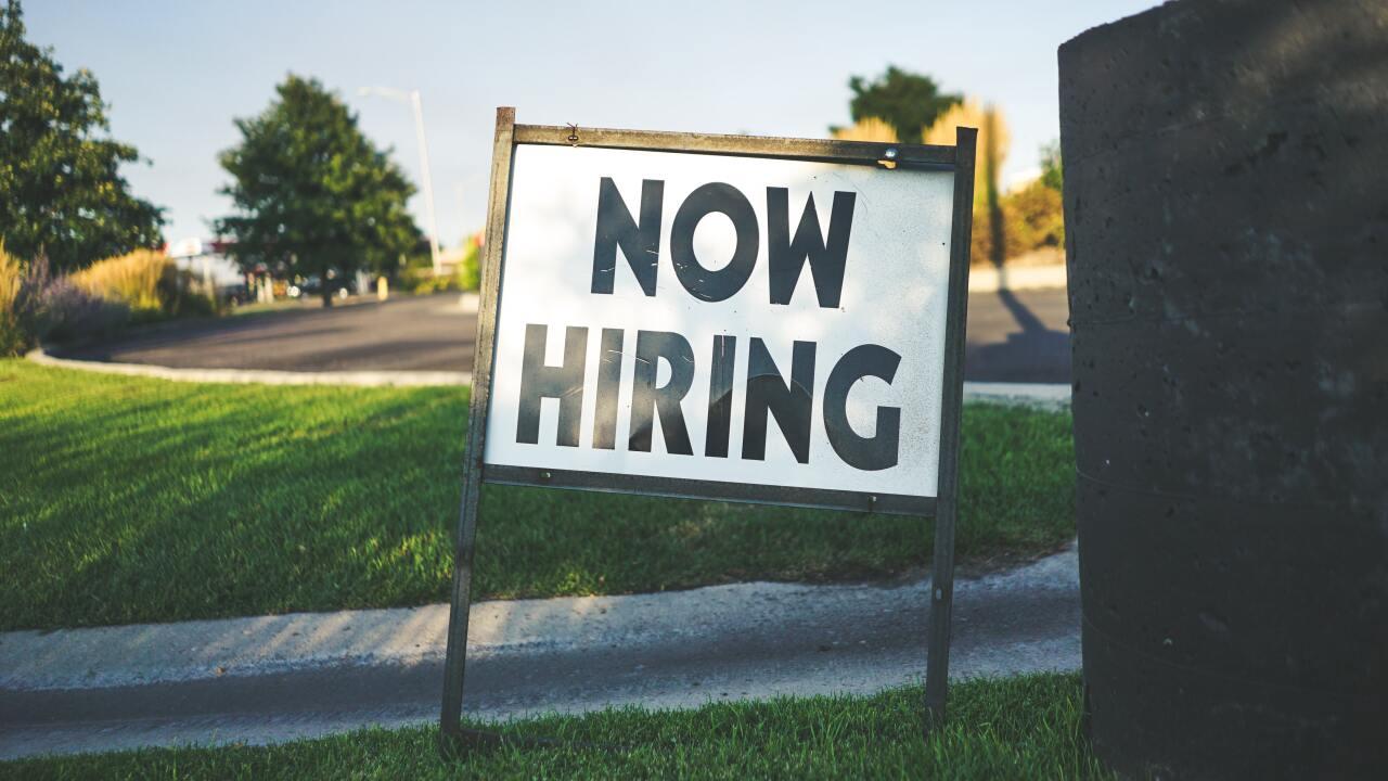 File image: now hiring