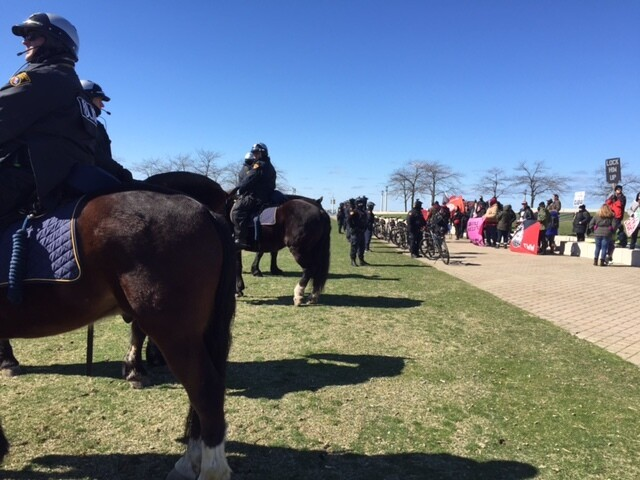 'Spirit of America' rally draws Trump supporters to Cleveland's Voinovich Bicentennial Park