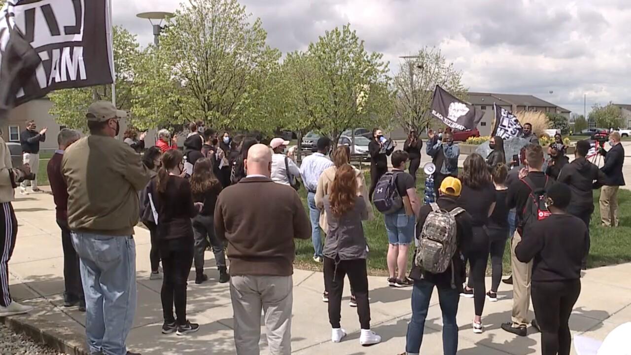 NKU protests