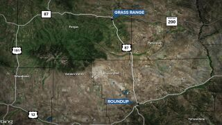 Driver leads officers on a high-speed chase through central Montana