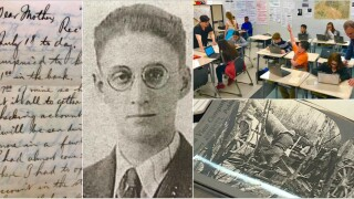 🇫🇷World War I letters give Chesterfield students hands-on lesson: 'You can feel the history'