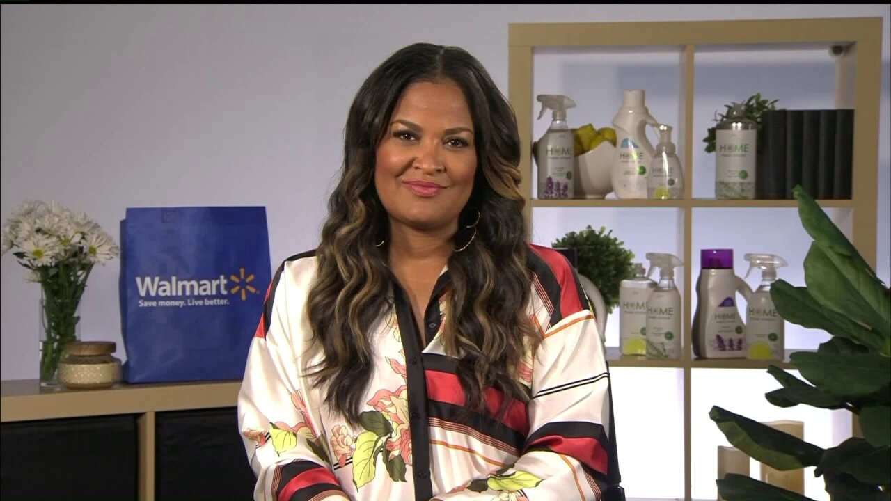 *Knock Out Spring Cleaning with Laila Ali