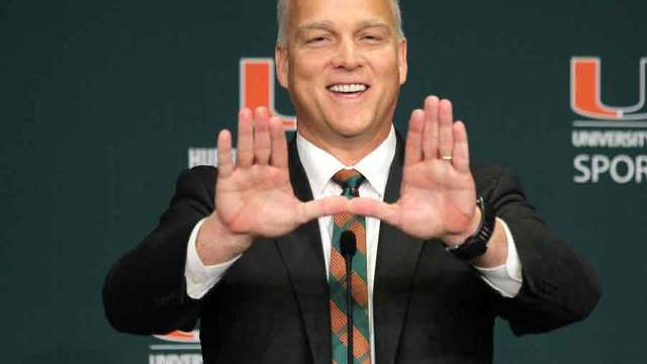 University of Miami extends coach Mark Richt's contract through 2023