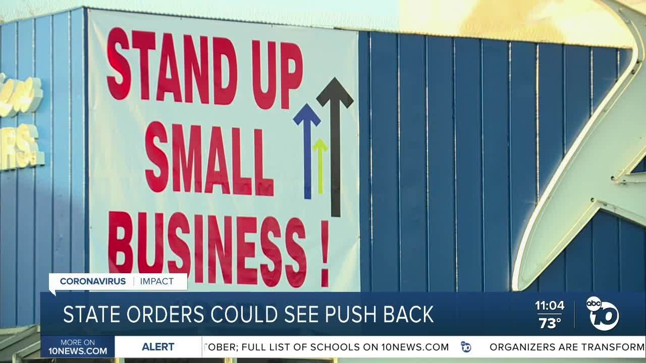 Some San Diego businesses plan to defy future orders to close