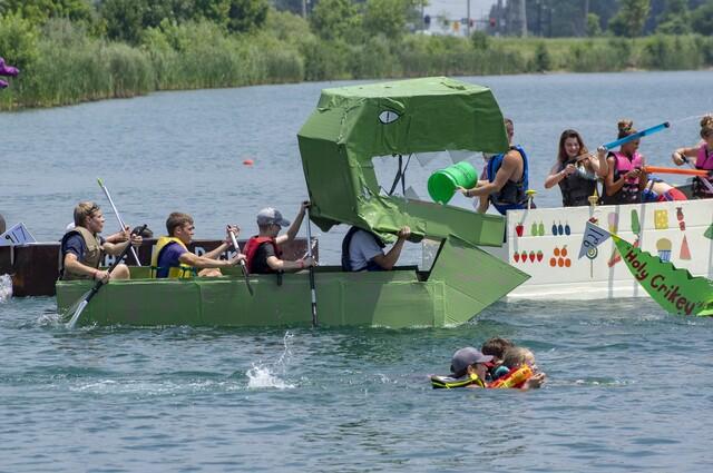 Crazy Cardboard Boat Regatta at Voice of America Park