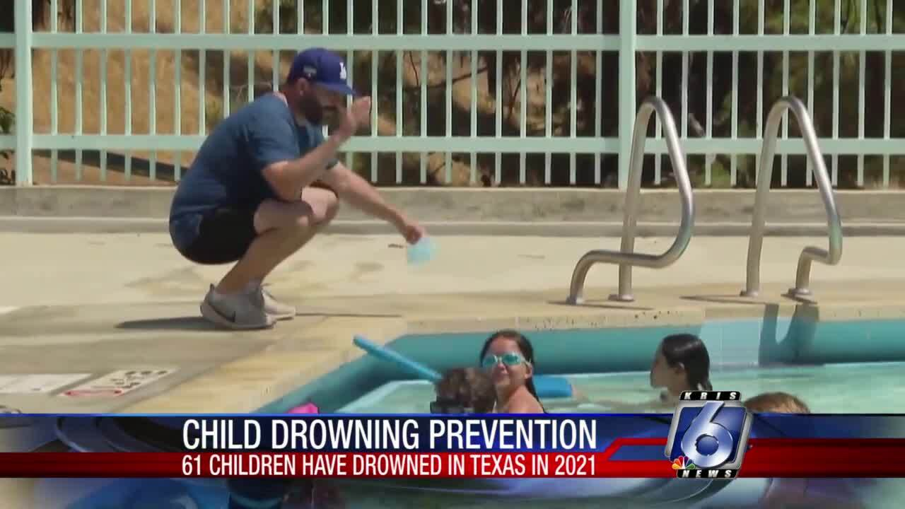 Parents are urged to be vigilant while their children are in water