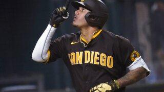 NLDS Padres Dodgers Baseball