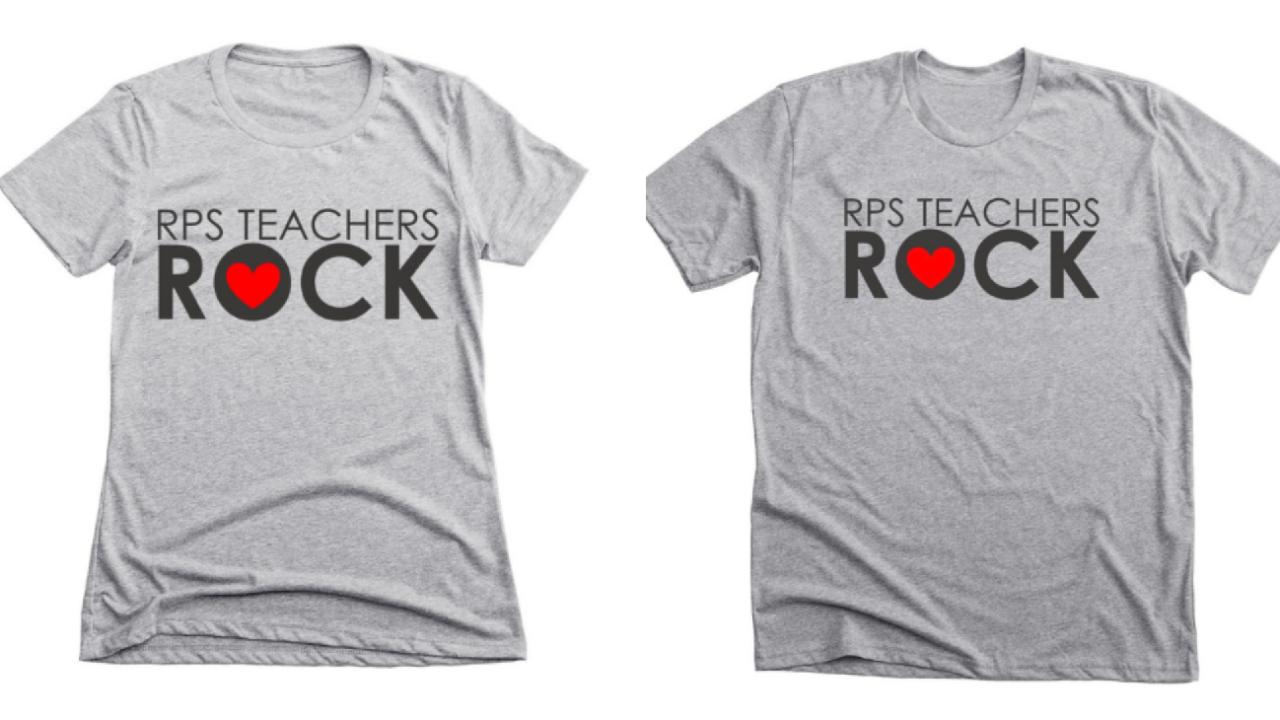 'RPS Teachers Rock' t-shirt fundraiser raises money for teachersupplies