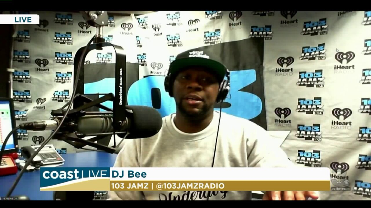 Music news with DJ Bee from 103 JAMZ on Coast Live