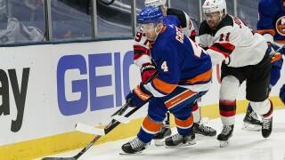 Devils Islanders Hockey