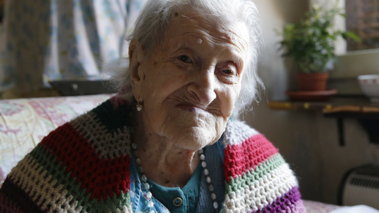 World's oldest person, Italy's Emma Morano, dies at 117