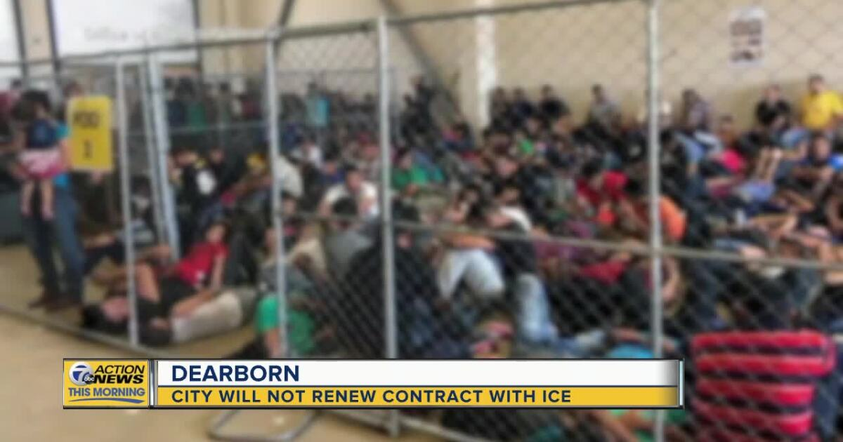City of Dearborn will not renew contract with ICE