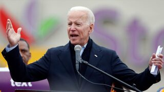 Biden's first 24-hour fundraising total tops other Democrats