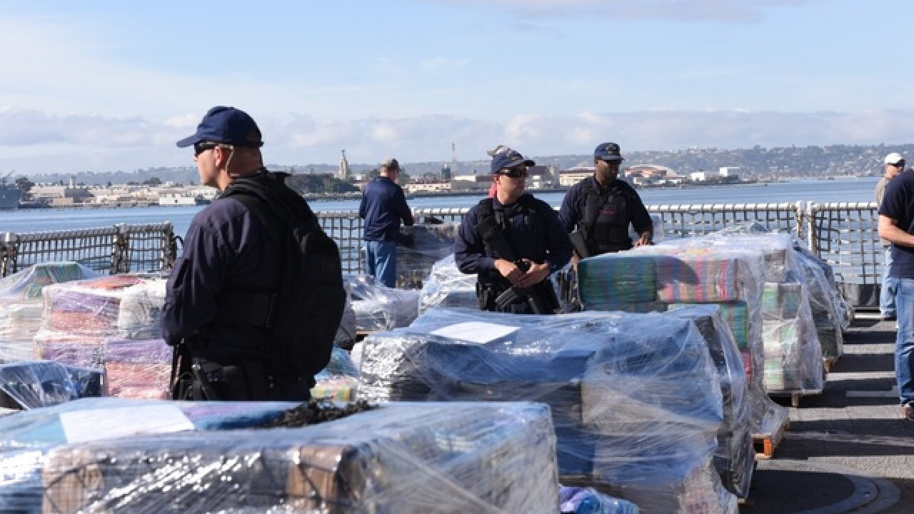 Coast Guard seizes about $500 million worth of cocaine, 49 people arrested