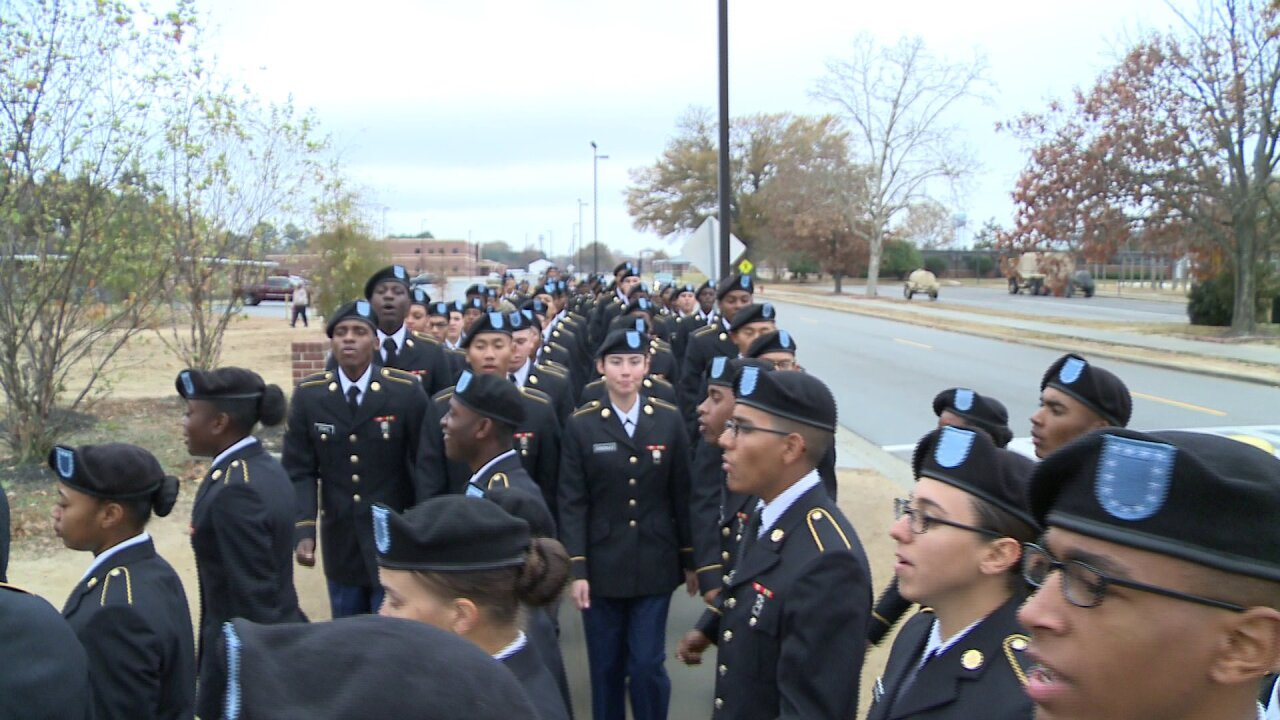 Why these soldiers will never forget first ArmyThanksgiving