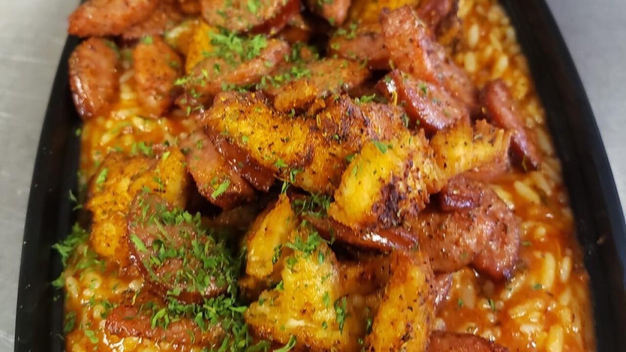 Sausage jumbalaya Chef Dan's.JPG