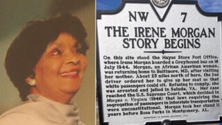 Honoring Irene: Civil Rights activist Irene Morgan receives historical marker in Gloucester Co. for desegregating interstate buses