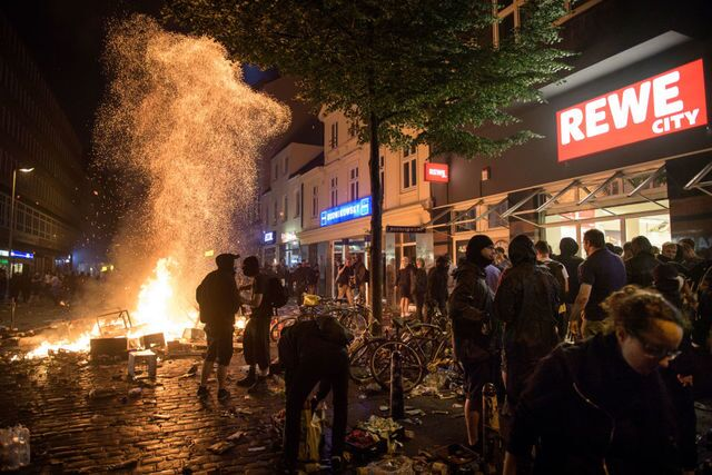 Photo gallery: Protesters march during the G20 Summit