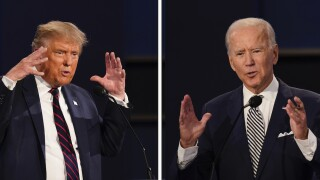 Final presidential debate: Biden and Trump to square off 12 days ahead of election