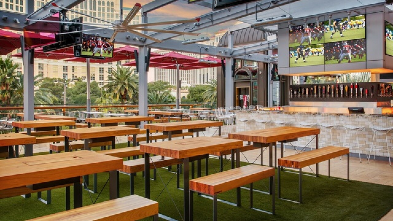 BEER PARK at Paris Las Vegas to roll out red carpet for movie awards viewing party