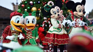 Disney Parks Frozen Christmas Celebration TV Special
