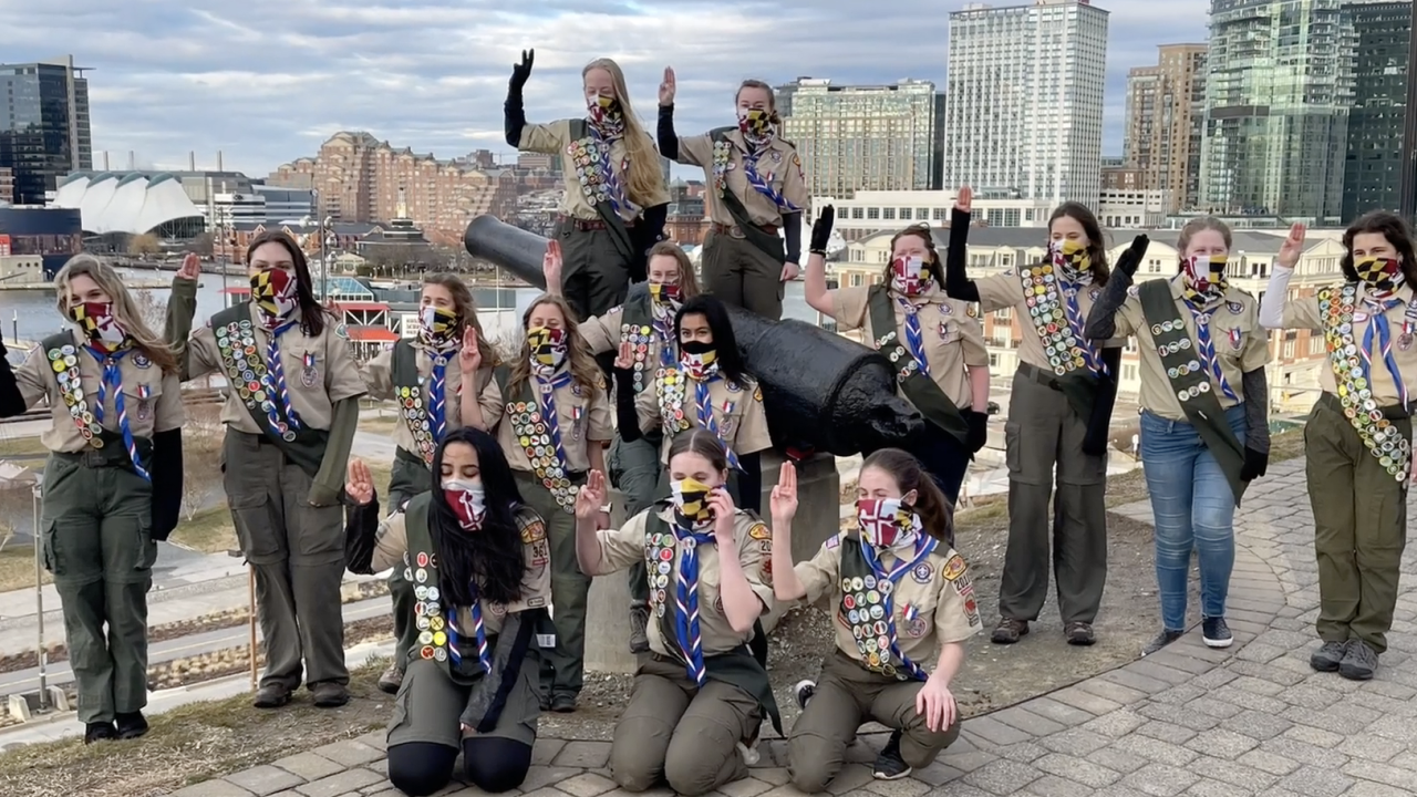 17 Baltimore area teens celebrated as some of the nation's first female Eagle Scouts.png
