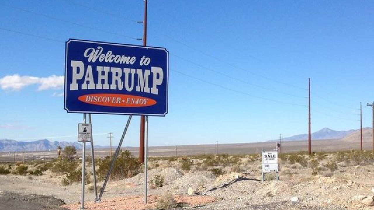 Earthquake reported just outside of Pahrump
