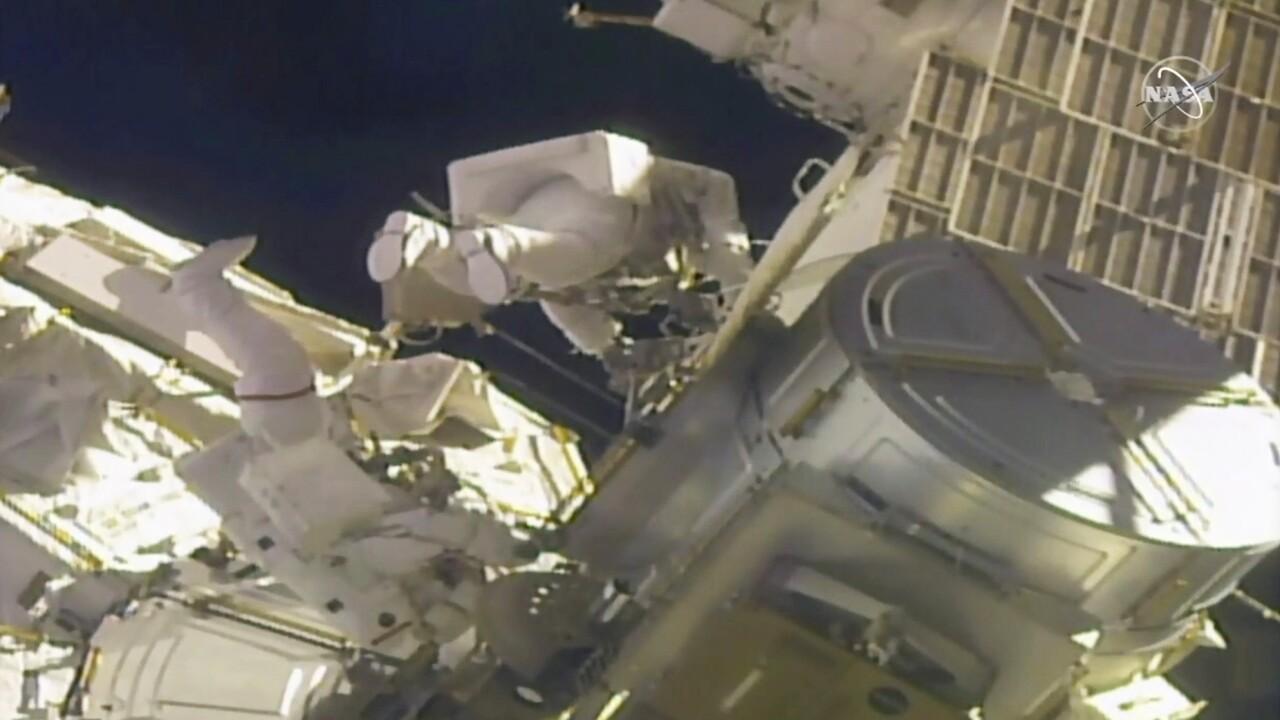 Spacewalk Feb. 1
