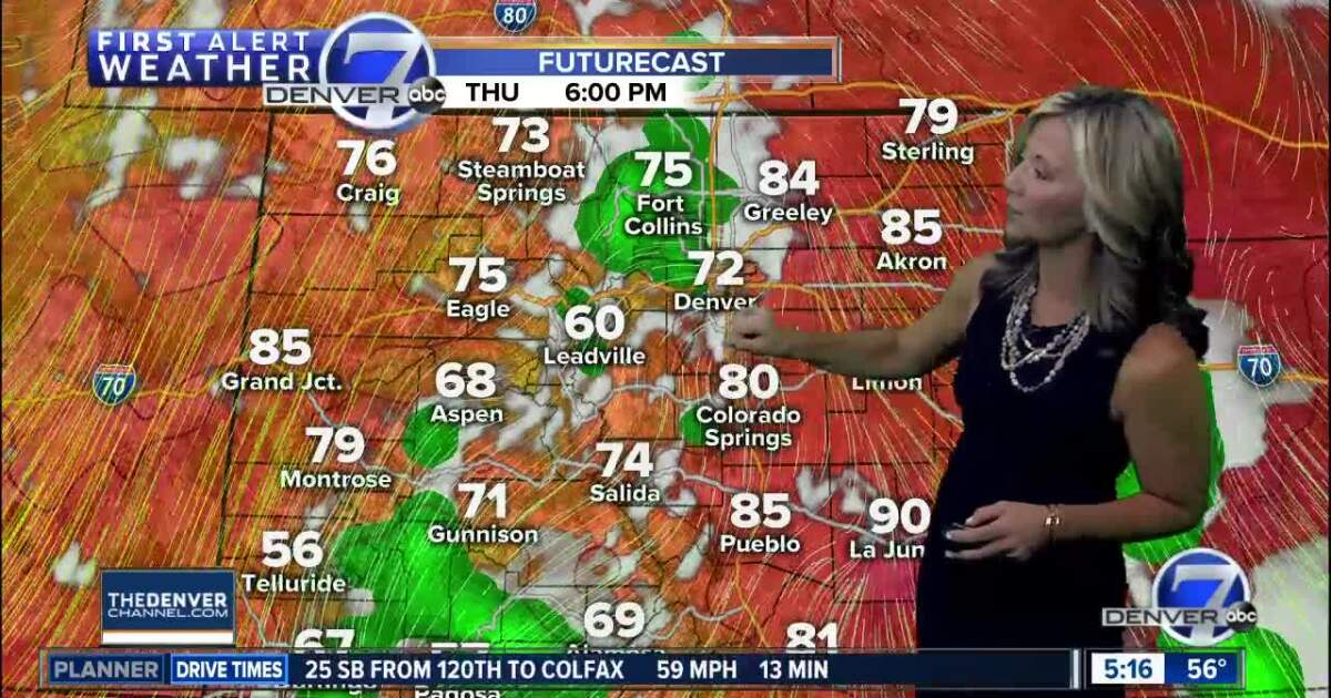 More fall-like across Colorado this weekend