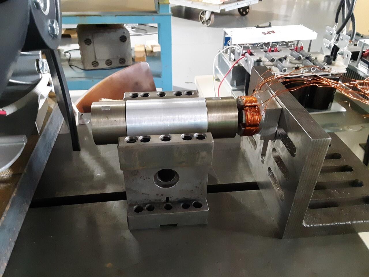 One of Foster's 3D motors