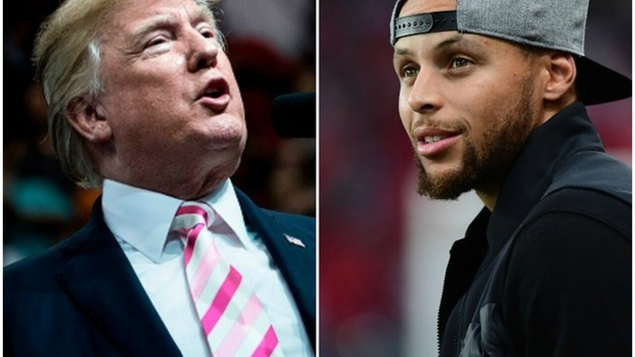 President Trump calls off Stephen Curry White House visit; LeBron James responds