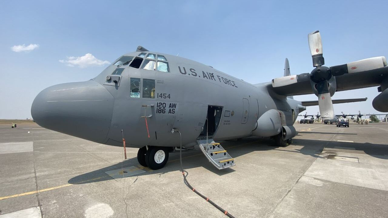 C-130 of the Montana Air National Guard