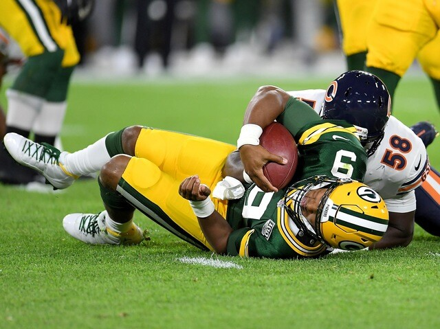 Relive the Green Bay Packers comeback victory over the Chicago Bears [PHOTOS]