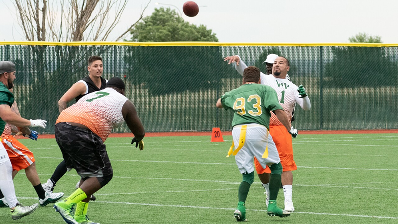 2018 Rocky Mountain State Games Flag Football Game