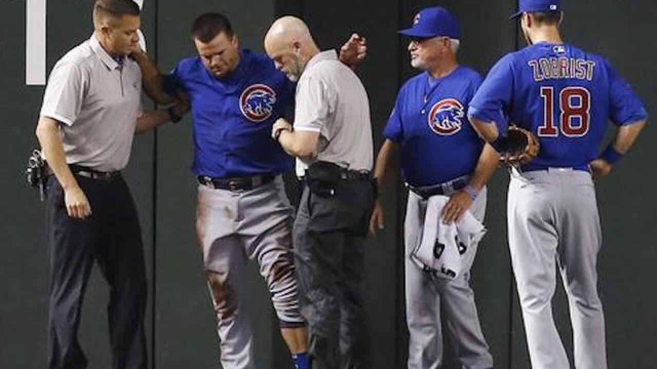 Cubs' Schwarber out for season with knee injury