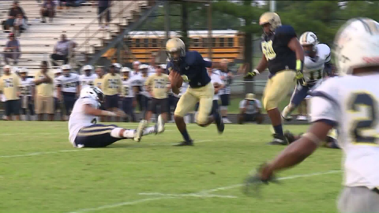 Coles, Logan lead Varina past Meadowbrook 30-6