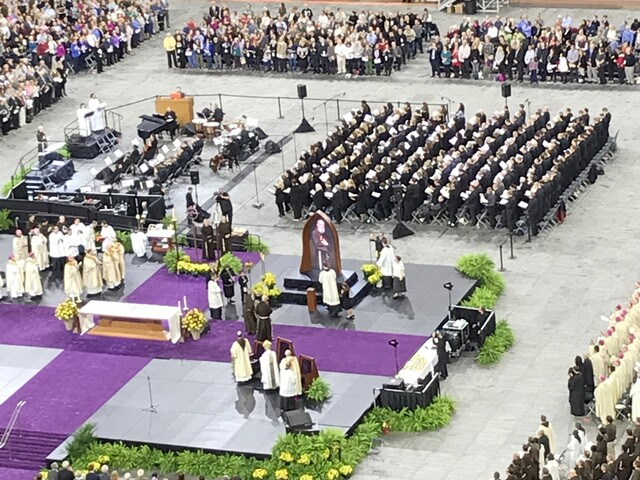 Photo gallery: Father Solanus Casey beatification ceremony in Detroit