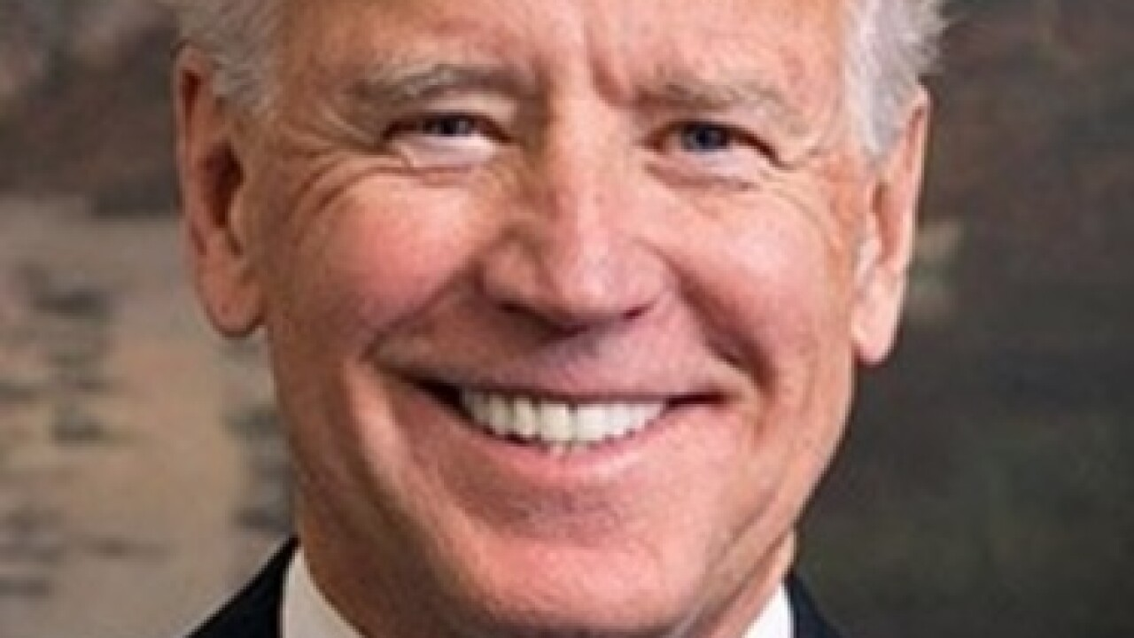 Former Vice President Joe Biden kicks off this year's UB Distinguished Speakers Series