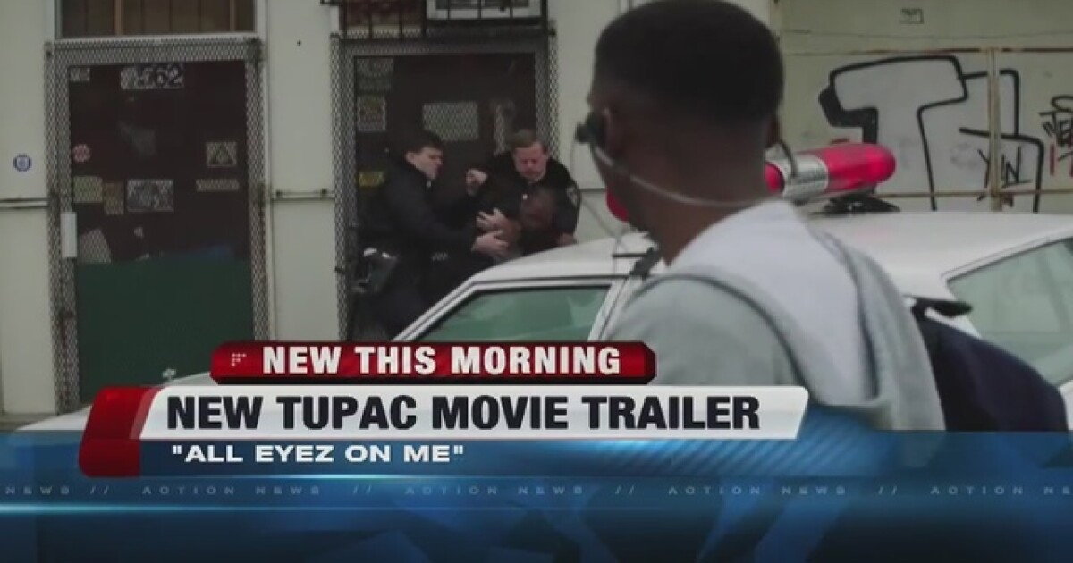 First official trailer for Tupac movie released