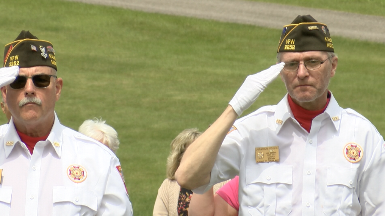 Flag ceremony in Kalispell honors storied Flathead veteran