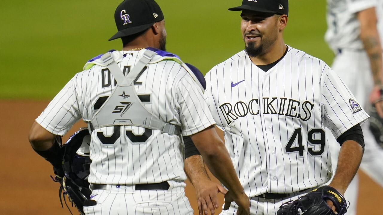Athletics Rockies Baseball