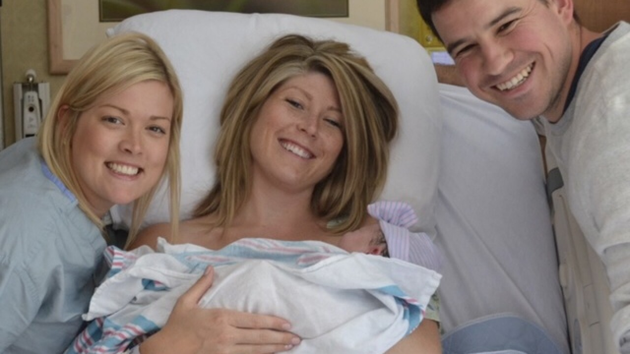 More mothers-to-be using midwives for deliveries