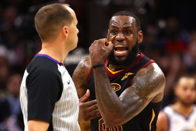 PHOTO GALLERY: Cavs-Warriors at The Q in Game 3 of the NBA Finals