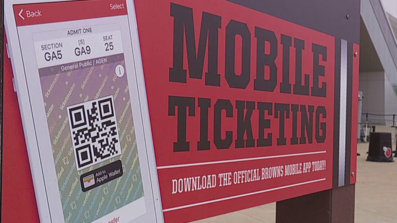 For Browns fans, new season brings new ticket policy