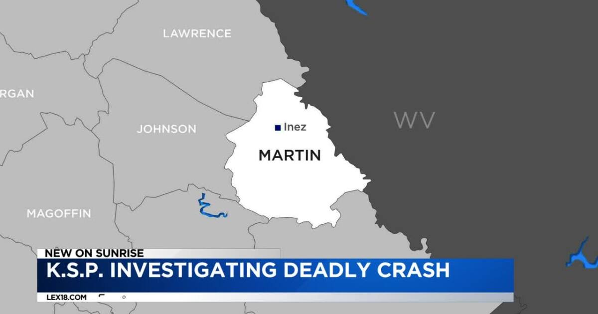 Police Investigate Deadly Martin Co. Crash on irvine ky map, harlan county kentucky map, campbellsville kentucky map, city map, kuttawa ky map, independence ky map, martin co kentucky map, kermit wv map, louisa ky street view map, wheelwright ky on kentucky map, irvington ky map, jamestown ky map, liberty ky map, ky county map,
