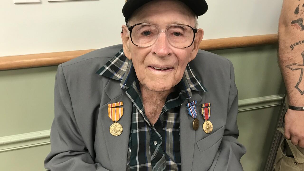 WW II vet Chambers