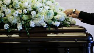 Former First Lady Nancy Reagan Lies In Repose At Ronald Reagan Presidential Library