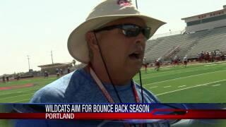 Gregory-Portland coach Rick Rhoades