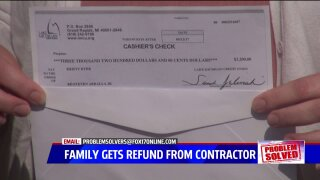Problem Solved: $3,200 returned to family after year-and-a-halfrunaround